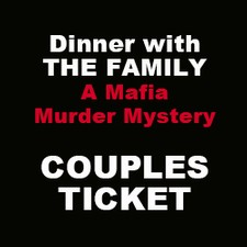 April 2020 Murder Mystery Couple Ticket