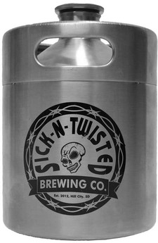 Sick-N-Twisted SS Growler Keg - Sm