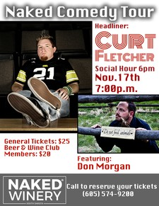 November Naked Comedy Tour